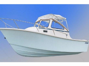 New Steiger Craft 21 DV BLOCK ISLAND Walkaround Fishing Boat For Sale