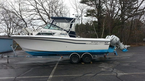 Used Grady White 252 Sailfish Walkaround Fishing Boat For Sale