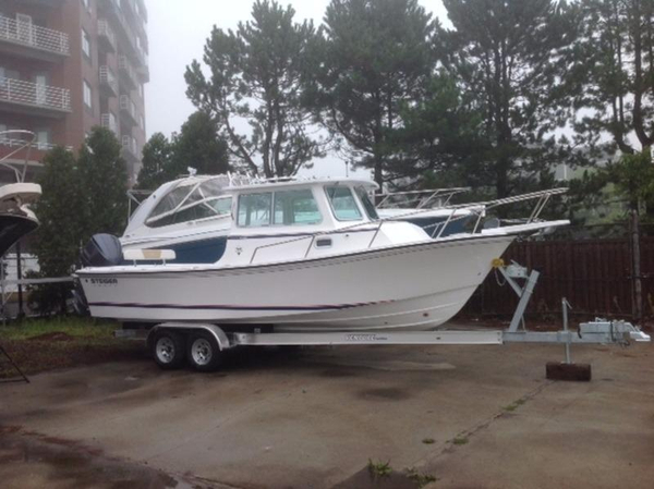 New Steiger Craft 255 DV Miami Pilothouse Boat For Sale