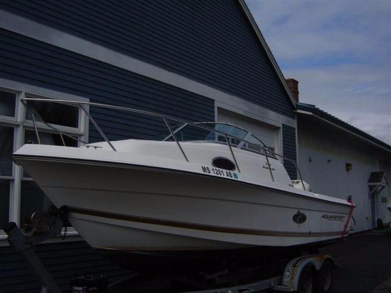 2000 used aquasport 215 explorer215 explorer walkaround for Used fishing boats for sale near me