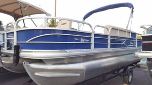 New Suntracker Fishing Barge 20 Pontoon Boat For Sale