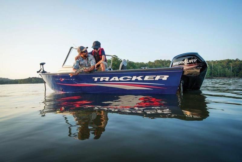 2017 new tracker pro guide v 16 wt aluminum fishing boat for Boat fishing near me