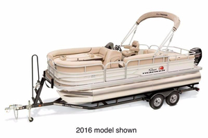 New Suntracker FISHING BARGE 22 Pontoon Boat For Sale