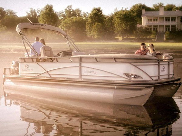 New Regency 220 DL3 150 L FourStroke Pontoon Boat For Sale