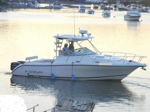 2001 used century walkaround fishing boat for sale for Fishing kayaks for sale near me