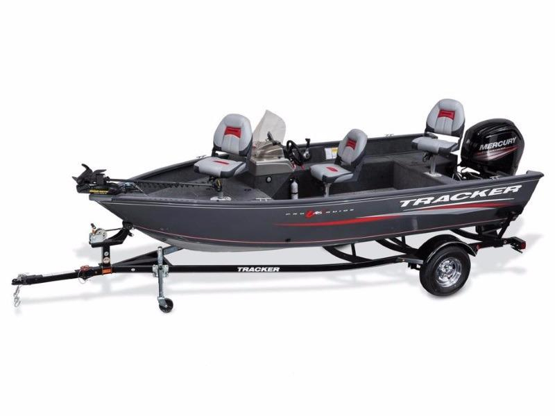 2017 new tracker boats pro guide v 16 sc aluminum fishing for Fishing boat dealers near me