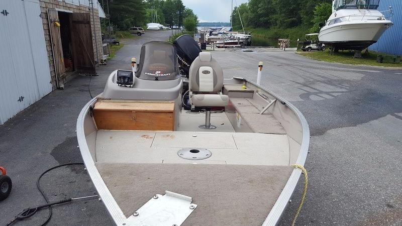 2009 used princecraft 16 39 starfish dlx aluminum fishing for Fishing boat dealers near me