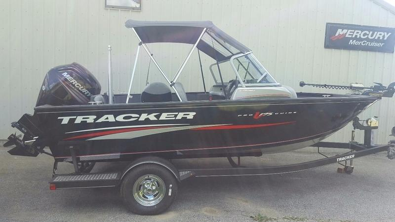 2017 new tracker pro guide v 175 combo bass boat for sale for Fishing boat dealers near me