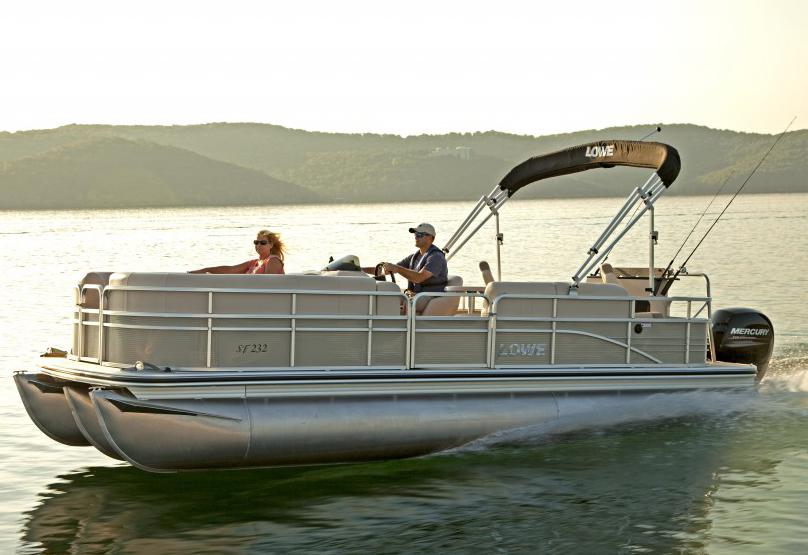2015 new lowe sf232 sport fish pontoon boat for sale for Fish for sale near me