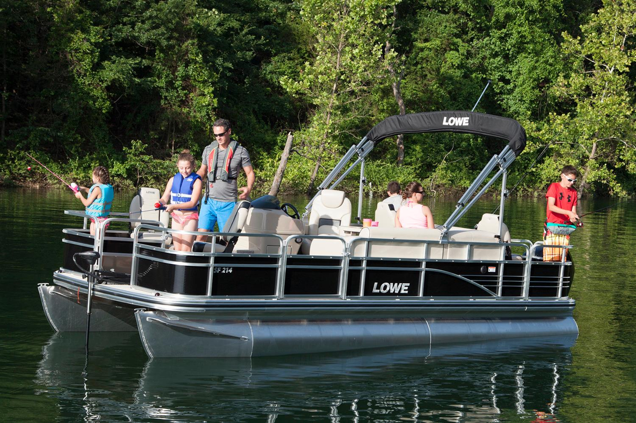 2016 new lowe sf214 sport fish pontoon boat for sale