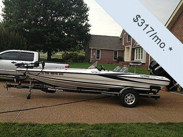 Used Triton 196 Tr Bass Boat For Sale