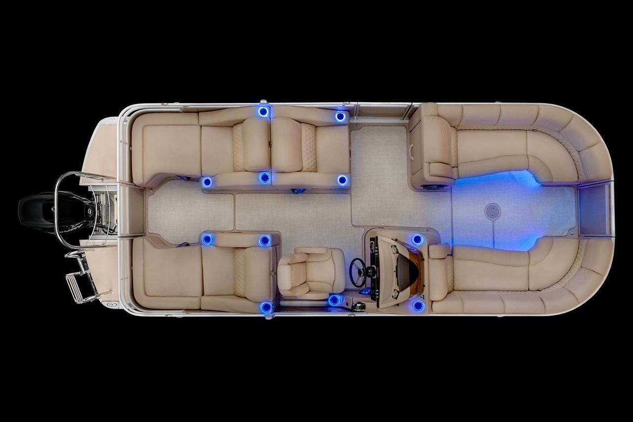2016 New Harris Solstice Dc 250 Pontoon Boat For Sale