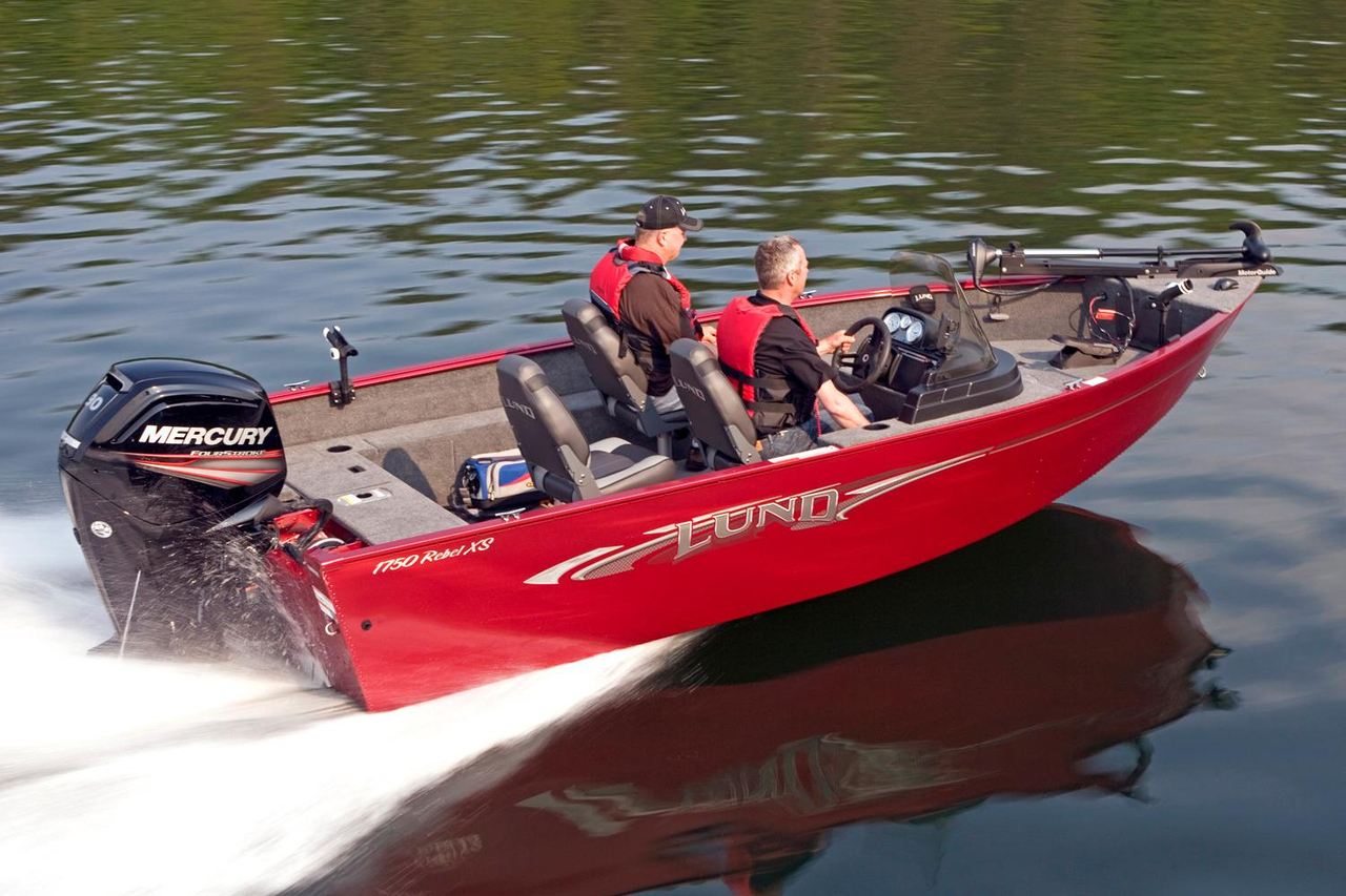 2016 new lund 1650 rebel xs ss freshwater fishing boat for for Freshwater fishing boats