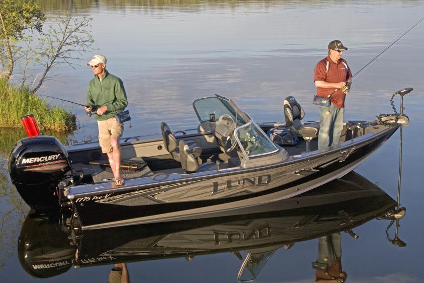 2016 new lund 1775 pro v sport freshwater fishing boat for for Best freshwater fishing boats