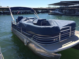 Used Aqua Patio AP 220 BC3 Pontoon Boat For Sale