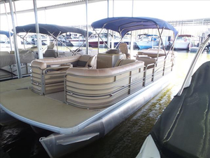 Used Sanpan SP 2500 RE Pontoon Boat For Sale