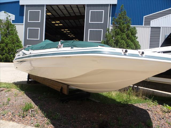 Used Hurricane 232 I/O Deck Boat For Sale