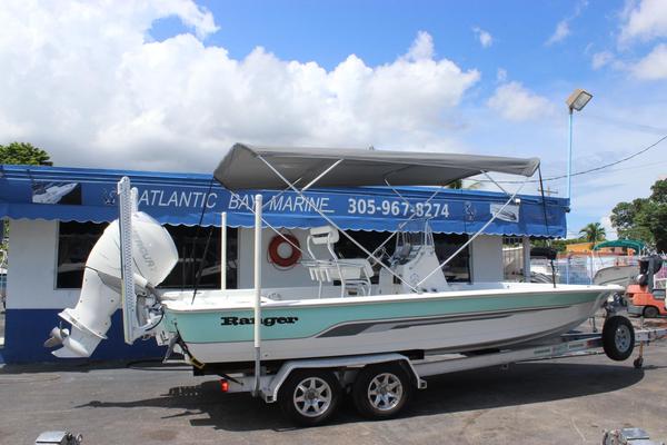 Used Ranger 2300 Bay Ranger Saltwater Fishing Boat For Sale