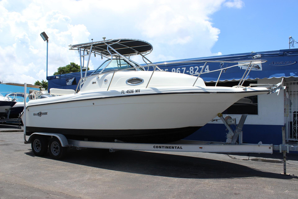 Used Sailfish 234 WAC Walkaround Fishing Boat For Sale