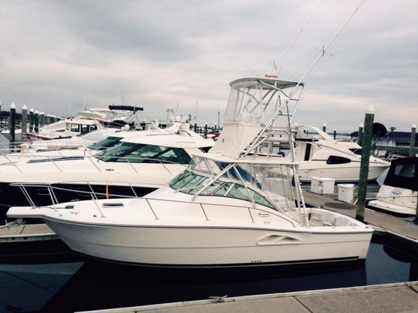 Used Rampage 30 Offshore Saltwater Fishing Boat For Sale