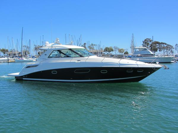 Used Sea Ray Sport 450 Sundancer Express Cruiser Boat For Sale