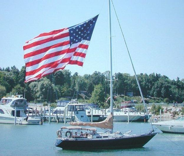Used C&c Fiberglass MKII Racer and Cruiser Sailboat For Sale