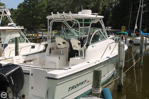 Used Trophy Pro 2902 WA Walkaround Fishing Boat For Sale
