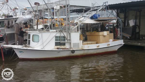 Used Skiff Craft 31 Shrimp Boat Commercial Boat For Sale