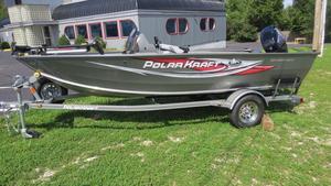 Used Polarkraft Outlander 160 SC Aluminum Fishing Boat For Sale
