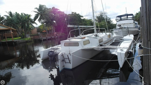 Used Searunner 31 Catamaran Sailboat For Sale