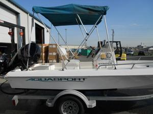 Used Aquasport 16 Striper Center Console Fishing Boat For Sale