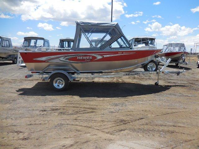 2016 New Hewescraft 180 Sportsman Aluminum Fishing Boat