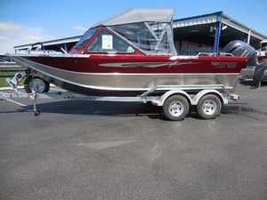 New Northwest Boats 196 FREEDOM O/B Aluminum Fishing Boat For Sale