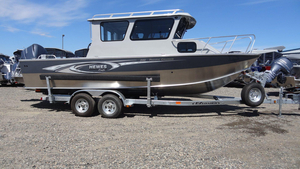 New Hewescraft 240 Pacific Cruiser Aluminum Fishing Boat For Sale