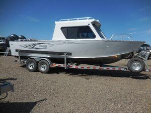 New Hewescraft 26 Alaskan Aluminum Fishing Boat For Sale