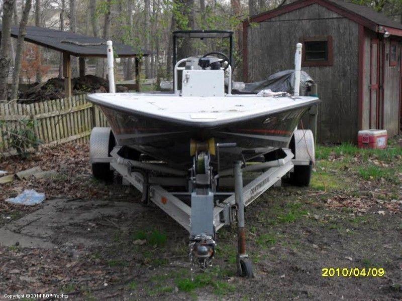 1994 used key hopper 20 long range flats boat fishing for for Deep house 1994
