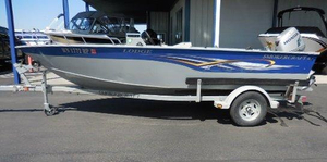 Used Smoker Craft 16 Lodge Aluminum Fishing Boat For Sale