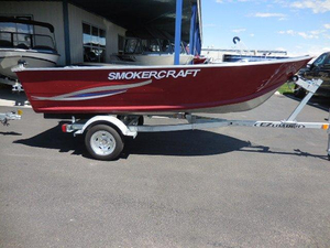 New Smoker Craft Alaskan 13 DLX SS Aluminum Fishing Boat For Sale