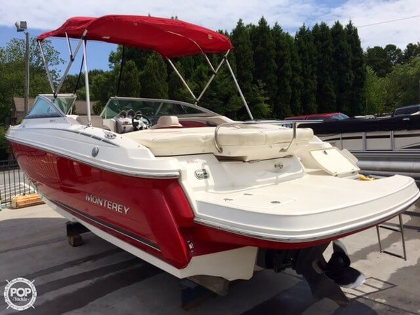 Used Monterey 234 FS Bowrider Boat For Sale
