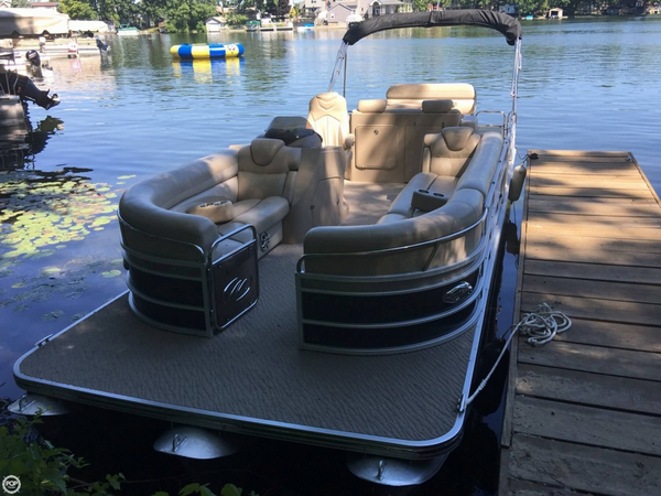 Used Manitou 27 SES Flip Platinum VP Pontoon Boat For Sale