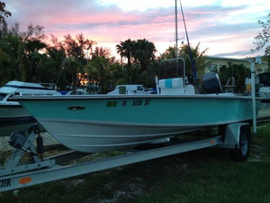 Used Quasar 19.4 Flats Fishing Boat For Sale