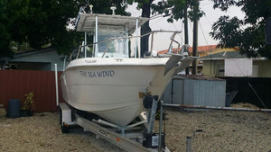 Used Vip 266 Sea Stealth Center Console Fishing Boat For Sale