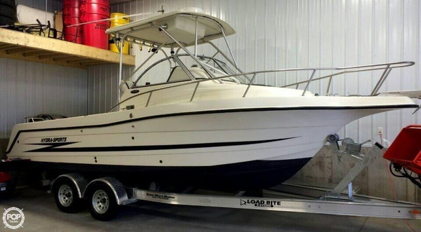 Used Hydra-Sports 2450 WA Walkaround Fishing Boat For Sale