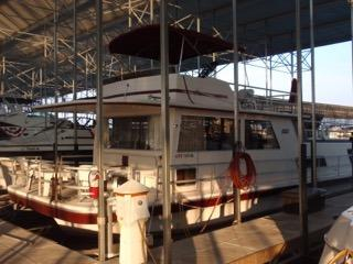 Used Gibson 14'x50' Standard House Boat For Sale