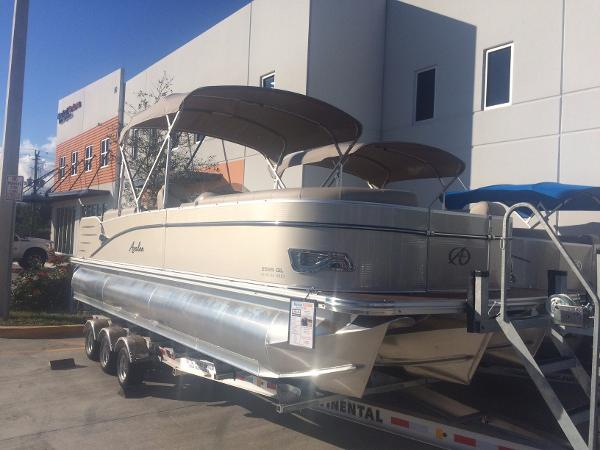 New Avalon Catalina Quad Lounger Pontoon Boat For Sale