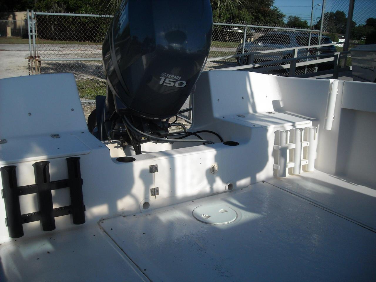 2004 used angler 204wa walkaround fishing boat for sale for Angler fish for sale