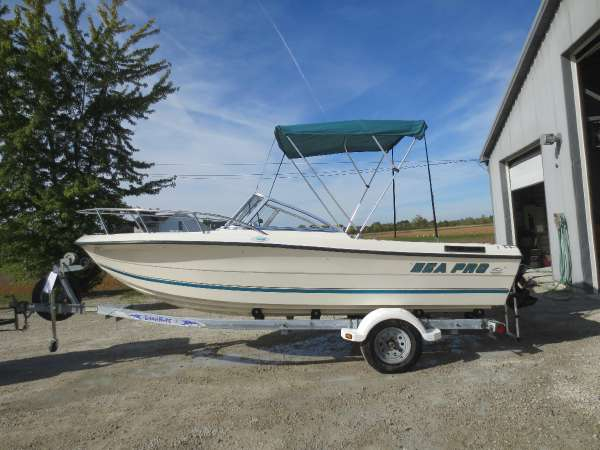 Used Sea Pro 190190 Freshwater Fishing Boat For Sale