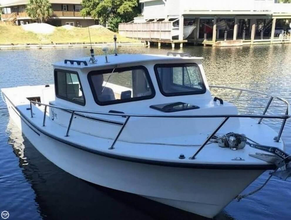 Used C-Hawk 25 Walkaround Fishing Boat For Sale