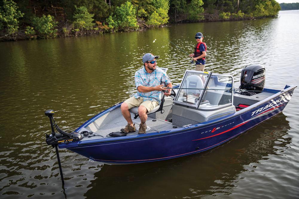 2017 new tracker pro guide v 16 wtpro guide v 16 wt for Tracker fishing boats