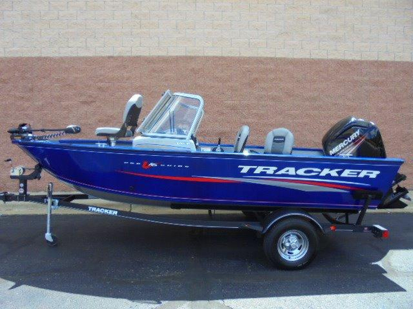 New Tracker Pro Guide V-16 WT Aluminum Fishing Boat For Sale